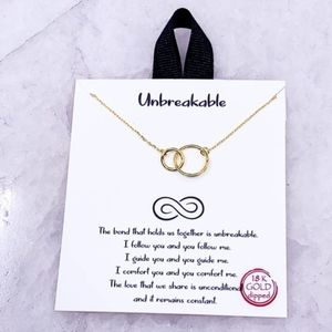 "Dainty Necklace ""Unbreakable"""